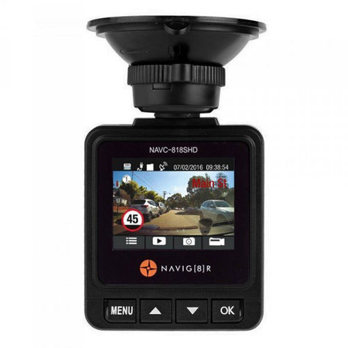 Laser Navig8r Pro X 1296P Super HDR Car Crash Camera Recorder + GPS